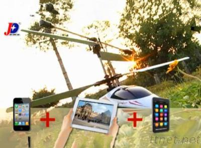 Real-Time Video Transmission JXD352W the App-Controlled Wireless Eagle-Ihelicopter WiFi RC Helicopter