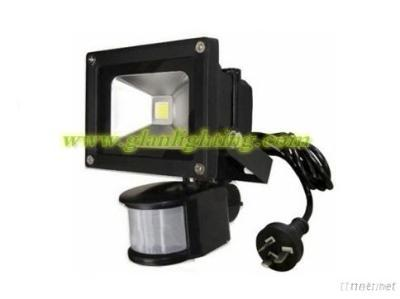 10W Motion (PIR) Sensor IP44 LED Flood light