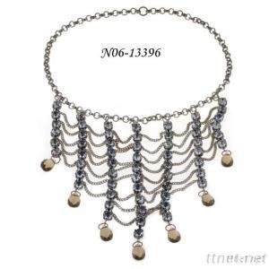 Jewelry Wholesale Imitation Jewellery Acrylic And Crystal Stone Jewelry In Silver