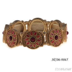 Saudi Gold Jewelry Bracelet For 2015 Best Selling Design Plated In Gold Handmade Jewelry Manufactured In China Yiwu