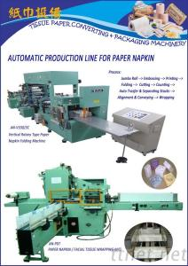 Auto Production Line For Tissue Paper