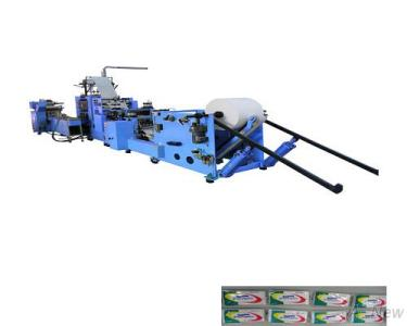 Auto production line for pocket facial tissue (AN-57122 + AN-82600)