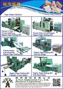 Vacuum Type Paper Napkin Machine(AN-32703 + AN-32704)