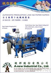 Auto Porduction Line for Napkin Paper Making Machine