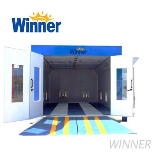 W-3200A Outdoor Auto Spray Painting Booth, Car Baking Room