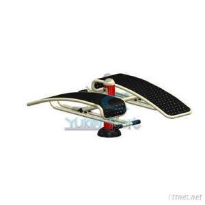 Outdoor Fitness Dual Situp Board