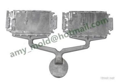 Plastic Injection Mold & Molded Part