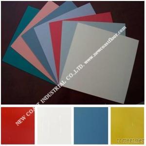 Pure Color PVC Quartz Floor Tile
