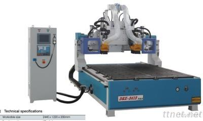 Woodworking CNC Router With 2 ATC/ Furniture Carving Machine