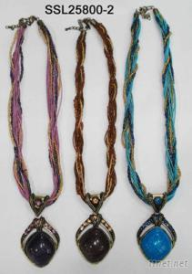 Necklace, Metal Necklace, Style In Tibet, Tibet Necklace, Thibet Necklace