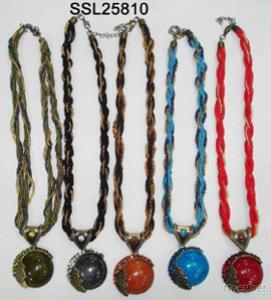 Necklace, Metal Necklace, Shell necklace, Style in Tibet