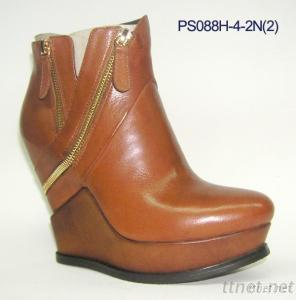 Women'S Elevator Shoes Boots, Short Boots, Leather Lady Boots, Short Boots For Women