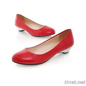 Leather Shoes, Enameled Leather Shoes, Spring New Korean Version Of Sweet Comfort Shoes Korean Version With Single-Pointed Shoes