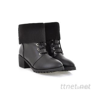 2013 New Autumn And Winter Shoes Lace Martin Boots With Square Heel Boots In