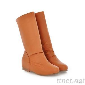 2013 New Autumn And Winter Shoes Comfortable Flat Boots Women'S Boots In The Sub-