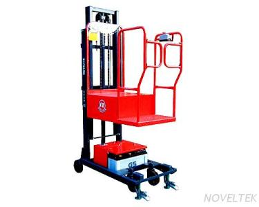 SPOP-02N Semi-Powered Order Picker Stacker (Load: 200Kg, 440Lb)