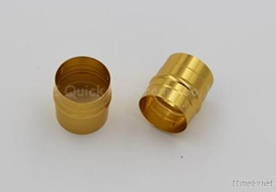 CNC Machined Anodized Aluminum Parts, Golden Rings