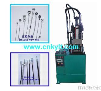 Vertical Zamak Zinc Inject Machine
