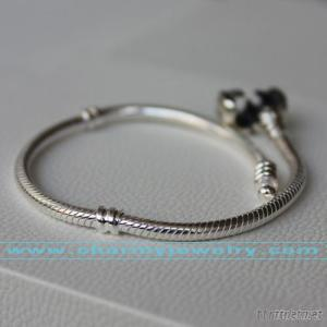 925 Sterling Silver Crown Bracelet