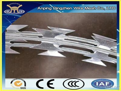 Low Price Concertina Razor Barbed Wire For Sale