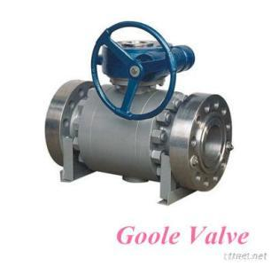 Forged Steel Metal Seated Ball Valve