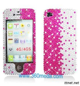 Iphone 4 4S Faceplate Hard Cover Case