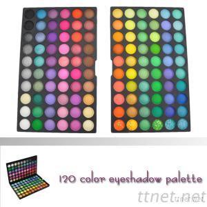 PRO120 Full Color Eyeshadow Makeup Palette OEM