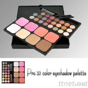 Highly Pigmented Eyeshadow&Concealer&Blush In A 32 Colors Makeup Palette