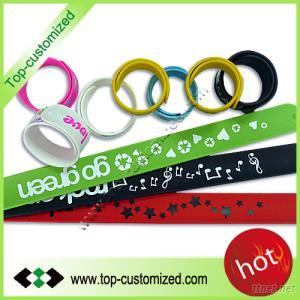 Multicolor Rubber Snap Bands