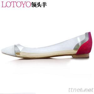 Leather Shoes, Flat Woment High Heels