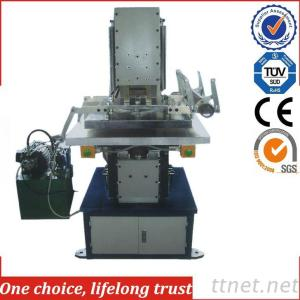 TJ-57 Hydraulic Hot Stamping Machine For Leather