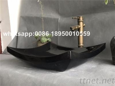 Marble Bath Square Sink Onyx Rectangular Basin Stone Vessel Sink