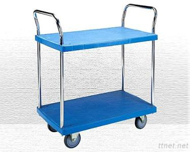 2 Shelf Plastic Trolley Model No. PHL-422GS
