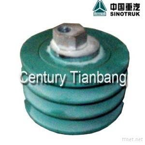 Sinotruk HOWO Truck Parts: Tensioning Roller 61560060069