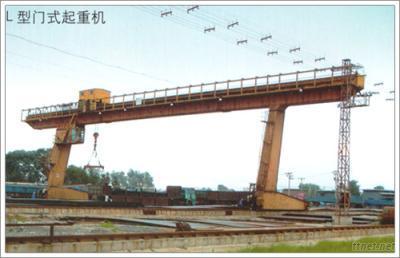 L Type 5-10 Tons Of Electric Hoist Gantry Crane