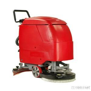 Walk-Behind Floor Scrubber