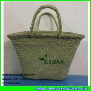 LDSC-001 China Seagrass Bag Natural Straw Beach Bag