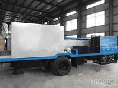 Type Span Curve Roof Roll Forming Machine