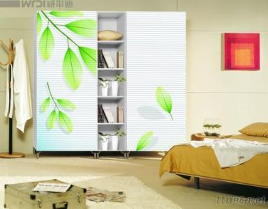 High Glossy Flower Painted Mdf Board For Wardrobe