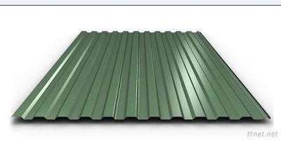 Corrugated Galvanized Steel Sheet, Plate