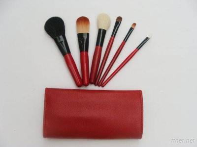 6Pcs Mini Travel Makeup Brush Set