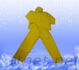 PVC, Polyester Rainsuit
