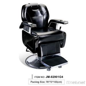 JM-82901G4/JM-82903G4 Luxury Hydraulic Recline Barber Chair, Professional Hair Salon Chair