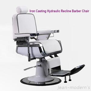 JM-831905G5C1 Luxury Iron Casting Hydraulic Recline Barber Chair