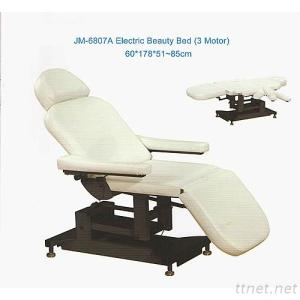 JM-6807A Electric Beauty Bed (3 Motor), Salon Electric Massage Chair