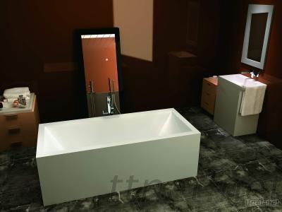 Solid Surface Artificial Stone Bathtub