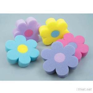 Flower Shape Cleaning Sponge