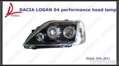 Dacia Logan 04 Headlight, Auto Lamp, Auto Spare Parts For Renault