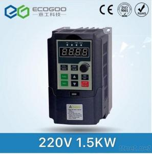 ECOGOO  220V 1.5KW Single Phase Input And 220V 3 Phase Output Frequency Converter