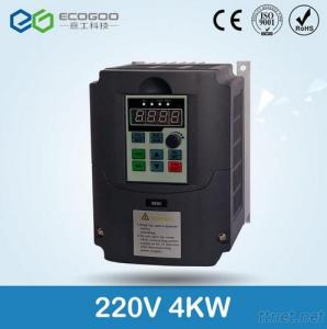 ECOGOO 220V 4KW Frequency Inverter, Variable Frequency Converter
